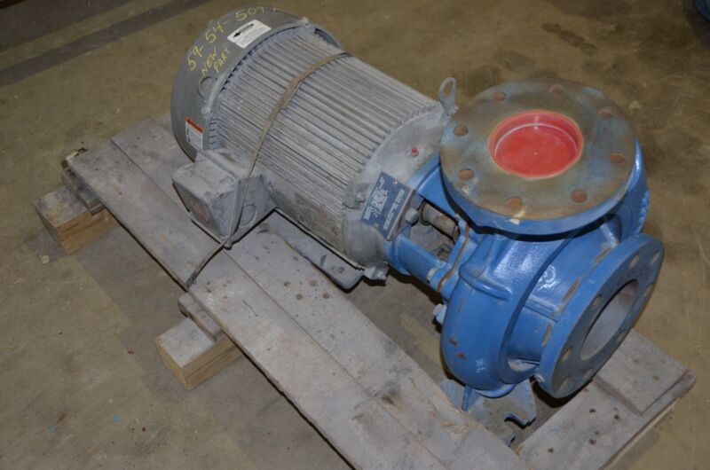 "Scot Pump Model 105 / 5"" X 4"" Centrifugal Pump Unimount 15 HP 3 PH 60 HZ Motor"
