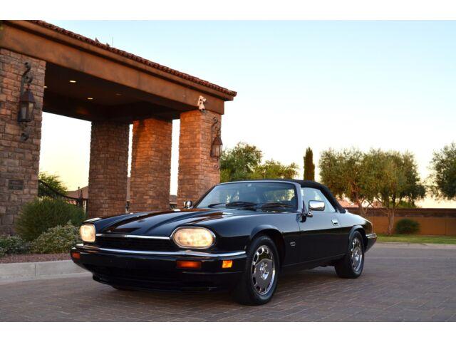 Jaguar : XJS 2dr 4.0L Con Gorgeous 2 owner Celebration Edition beautifully maintained triple black chromes