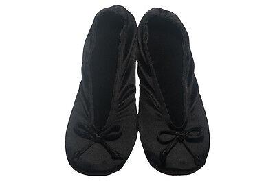 Isotoner Satin Ballerina Slippers - Multiple Colors / Sizes - NEW