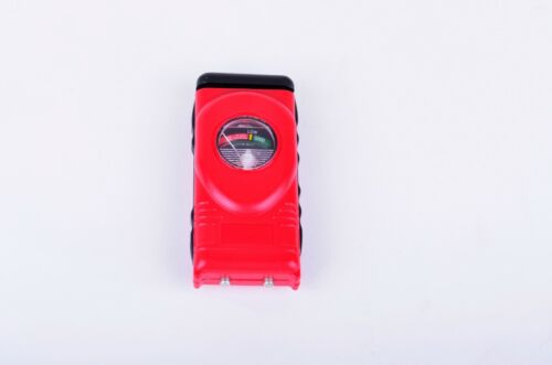 AA/AAA/C/D/9V/1.5V Universal Button Cell Battery Tester Checker RED