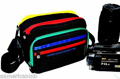 UCB Video Camera Shoulder Bag Case Padded Sony Handycam Camcorder Canon Nikon for sale  Shipping to India