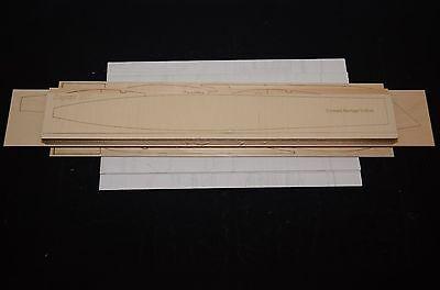 Huge Scale R/c Glider SAGITTA XC Laser Cut Short Kit & Plans, 174 in. wing span