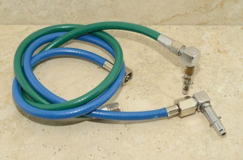 Hampton Research & Engineering Inc Hoses Blue (N2O) Green (O2) Oxygen Dental