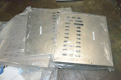 Mass Flow Controller Mfc Metal Front Panel Face Plate Cover Electrical Box Lot