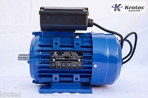 Electric-motor-single-phase-240v-0-37kw-1-2hp-2820rpm