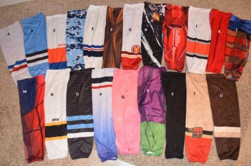 CHOICE of Dead Stock ADULT PRO Polyester Sublimated Print Ice Hockey Team Socks