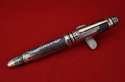 """Ariel Kullock Customized """"LONDON"""" Overlay on Mont Blanc 149 Fountain Pen"""
