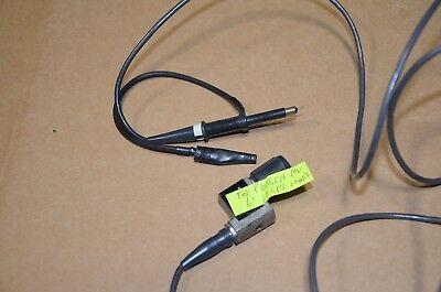 Tektronix P6065a P6065 P6062d P6062 Active Test Probe Lot Of 2