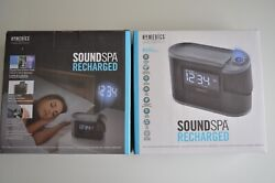 HoMedics Soundspa, Recharged-Projection Alarm Clock-8 relaxations sounds 127w20