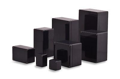 Bild von BOXEXPERT ABS Industriegehäuse Elbe IP65 Schaltschrank schiefergrau schwarz Box