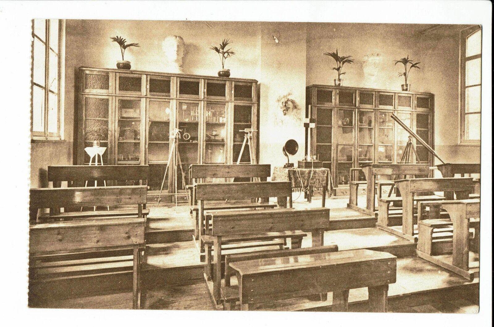 CPA-Carte postale-Belgique- Oostacker - Classe de l'Ecole des Frères de N.D.