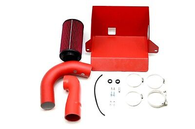 1320 Performance Polaris Slingshot cold air intake system with heat shield red