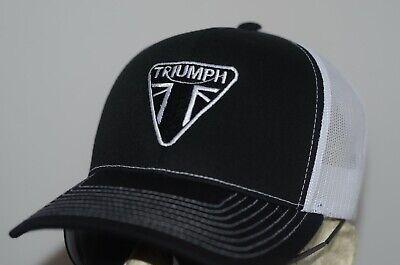 Triumph Motorcycles Hat Bonneville T120 Evel Knievel Coventry Union Jack Cap Pin