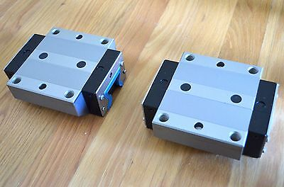 New Rexroth R185143110 Size45 Linear Roller Rail Bearing Runner Blocks - Thk Cnc
