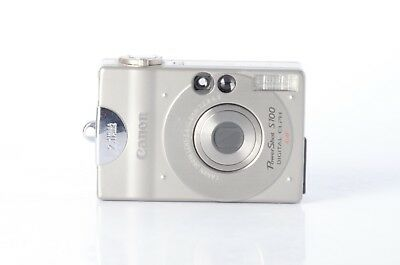 Canon PowerShot Digital ELPH S100 / Digital IXUS 2.0MP Digital Camera - Silver for sale  Shipping to India