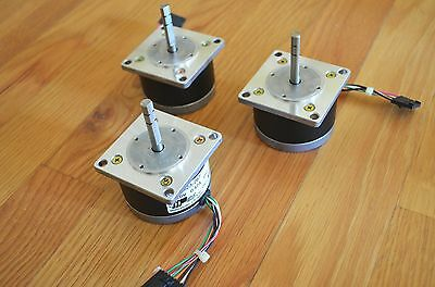 New 3 Applied Motion Nema23 Stepper Step Stepping Motors - Cnc Diy Rep Rap