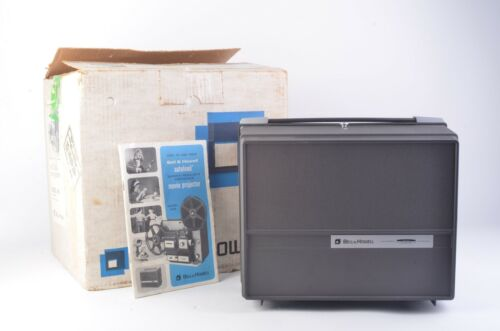 BELL & HOWELL #456 DUAL 8mm (8mm & Super 8) AUTOLOAD PROJECTOR, WORKS GREAT