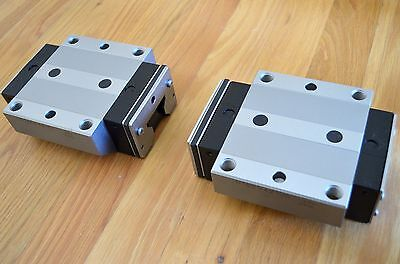 New Rexroth R185942100 Size45 Linear Roller Rail Bearing Runner Blocks - Thk Cnc