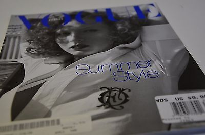 1998 Vogue Magazine Italia Fashion Ad Ads Steven Meisel Perfume Dress Italy