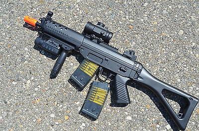 Double Eagle M82 M82P Semi/Full Auto Electric Airsoft Gun w/ TWO Magazines Auto Electric Rifle Magazine