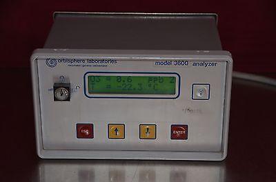Orbisphere Laboratories 3600 Oxygen Ozone Hydrogen Analyzer Model 3600320.e