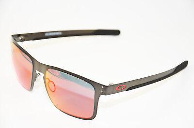 Oakley Holbrook Metal OO 4123 05 Matte Gun Prizm Herren Metall Sonnenbrille Neu