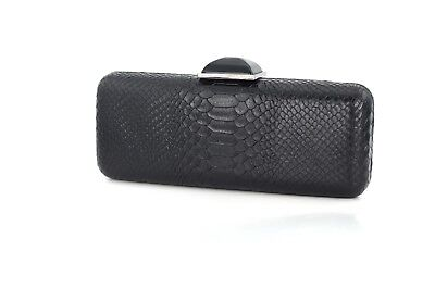 Fashion Python Pattern Print Faux Vegan Leather Clutch Evening Bag! (Pattern Clutch Bag)