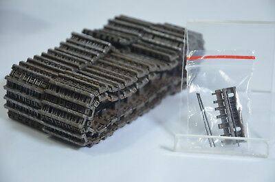 1:24 RC VS Tank KING TIGER Hard Tread Set (2 Sides) Pro Track Parts A03102837 for sale  Shipping to United States