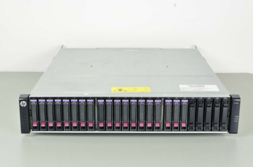 HP StorageWorks P2000 G3 24-Bay Storage Array  w/ 24x 600GB SAS Drives - AP846A
