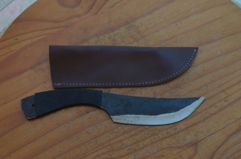 Knife hand forged carbon steel Medieval repro from The Egle Collection 2135X