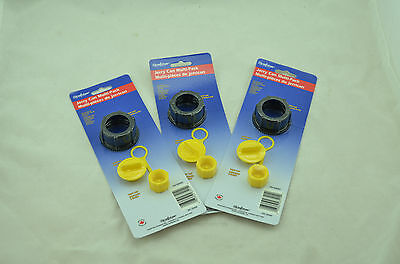 3x New Scepter Gas Can Replacement Parts Kit 03583 Screw Vent Cap Stopper