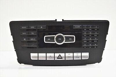 Mercedes ML W166 GL X166 Navigationssystem Radio Multimedia Navi A1669002403