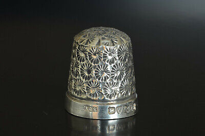 Sterling Silver Thimble by Henry Griffith & Sons Chester Early 20th Century