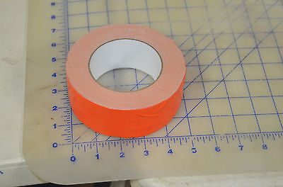 One Roll Orange 2 X 60 Yards Duct Tape Cloth Sealing Shield Packing Bright