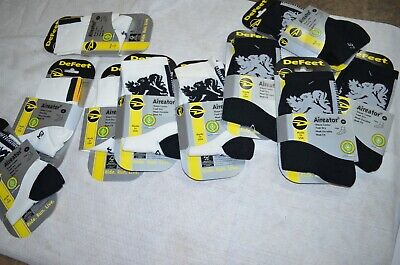 NEW DEFEET LION OF FLANDERS Cycling MEDIUM M Socks 10 pack YELLOW