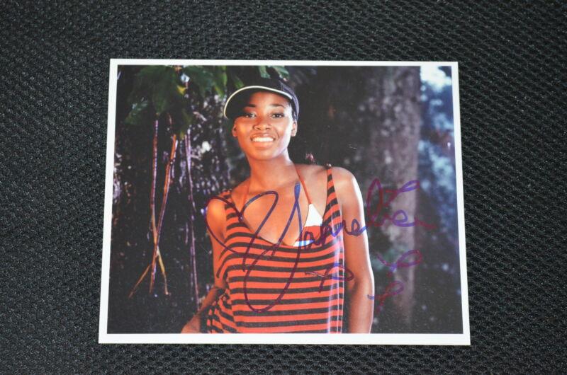 JAMELIA signed Autogramm 13x16 cm In Person SUPERSTAR