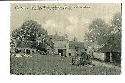 CPA - Carte postale-Belgique Waterloo -Vue intérieure d'Hougoumont-la ferme,