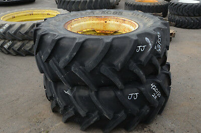 Set Of 2 Wheels Continental Tires 42085 R28 Contract Ac85 Jj