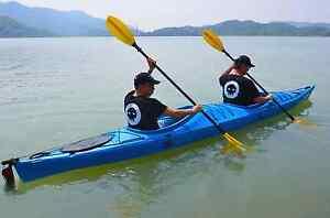 Zweierkajak Kanu Wanderkajak 2er Tourenkajak Seekajak mit Skeg Steuer Doubloon