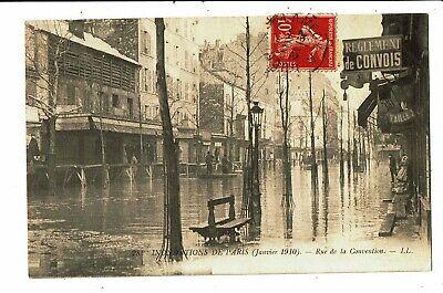 CPA - Carte postale -FRANCE - Paris inondé -Rue de la Convention -1910- VM5038