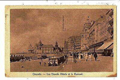 CPA - Carte Postale-Belgique-Oostende -Les Grands Hôtels en 1930- VM5385
