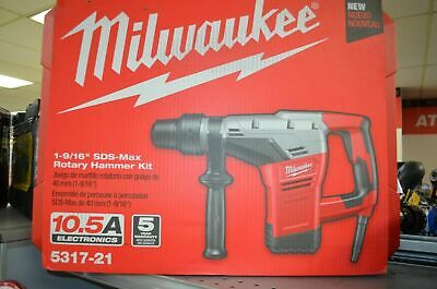 Milwaukee 5317-21 1-916 Inch Sds Max Rotary Hammer