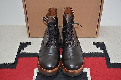 Julian Boots Made In Usa Vibram Sole Brown Leather Berlin Ankle Boots