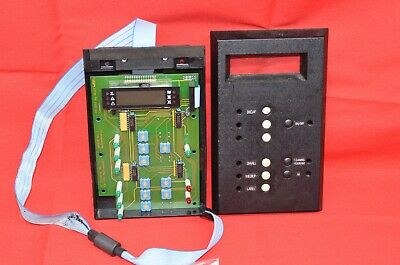 Schaerer E6 Main Control Display Board Espresso Coffee Machine Part Selector Lcd