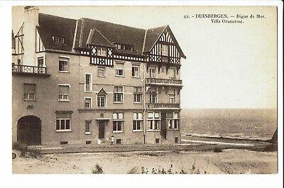 CPA-Carte postale-Belgique Duinbergen -Digue de Mer -Villa Orunerose- S1676