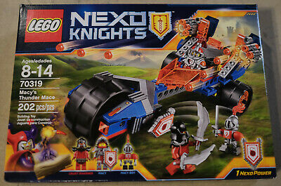 Lego 70319 Nexo Knights Macy's Thunder Mace - NEW in box