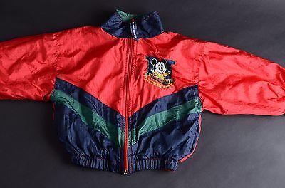 Vintage Baby Mickey University windbreaker jacket Size 18M