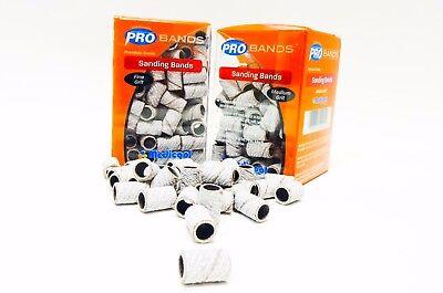 Medicool Nail Drill (Medicool SANDING BANDS for Electric Nail Drill Variations ~ 100ct/pk White ~ )
