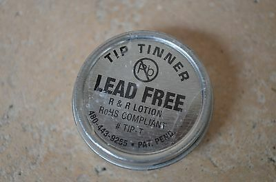 Rr Lotion Tip-t Lead Free Solder Tip Tinner Cleaner .50 Oz 14.2grams