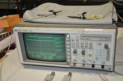 Hp Agilent 54542a 2 Gsas 4 Channel 500 Mhz Oscilloscope 10441a 10440a Probes